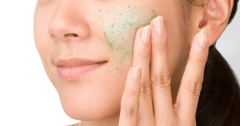 exfoliate your skin for glowing skin